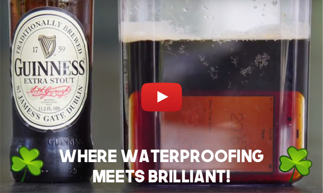 NanoProof PCB waterproofing submerged in beer | IPX7 Electronics Video