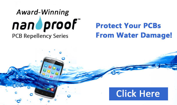 NanoProof PCB waterproofing | circuit board nano coating