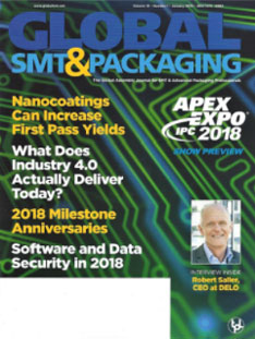 Global SMT & Packaging Magazine cover
