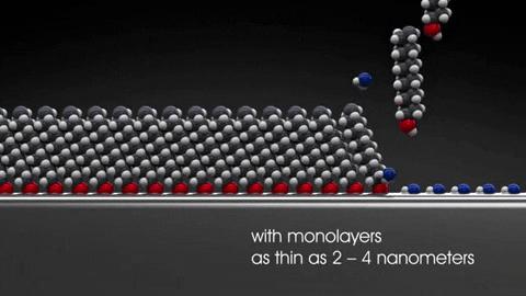 Hydrophobic technology demonstration - 2-4 nanometer coating