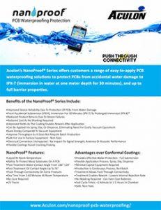 NanoProof product brochure