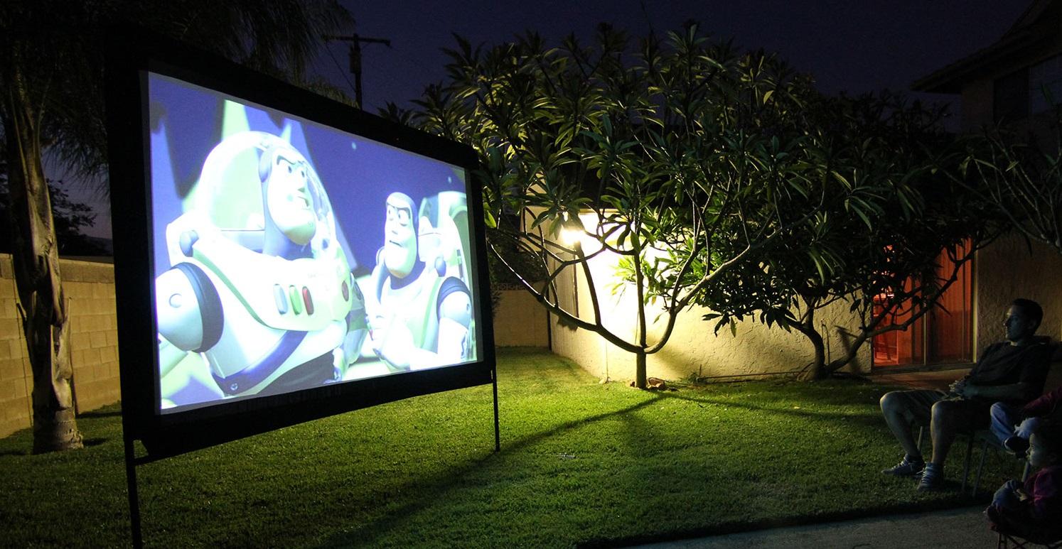 Projector screen coating