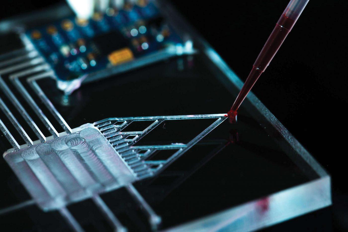 microfluidic coating technology